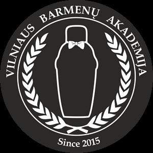 Vilniaus barmenų akademija LOGO_juodas
